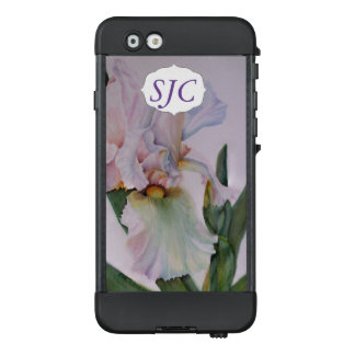 WHITE IRIS WATERCOLOR FLOWER | LIFEPROOF CASE