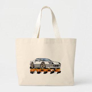 White IROC Z Large Tote Bag