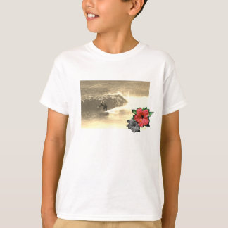 White-Island-beach-surf-Tee-for-kids T-Shirt