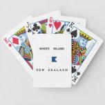 White Island New Zealand Alpha Dive Flag Card Decks