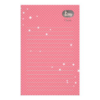 White Jack Russell Writing Paper Stationery