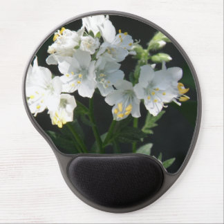 White Jacob's Ladder Gel Mouse Pads