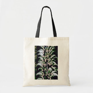 white Jade vine (Strongylodon macrobutrys) flowers Budget Tote Bag
