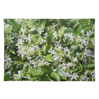 White Jasmine Flowers Placemats