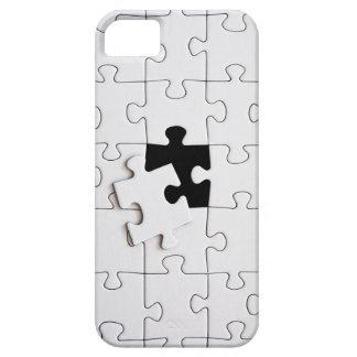 White Jigsaw Puzzle 01 iPhone SE/5/5s Case
