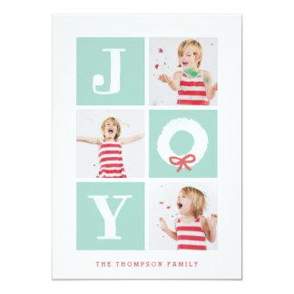 Joy Christmas Wreath Cards
