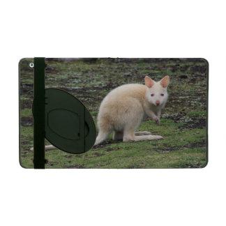 White Kangaroo iPad Covers