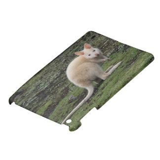 White Kangaroo iPad Mini Cases