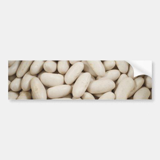 White kidney beans bumper sticker