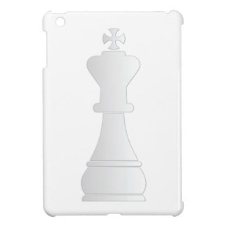 White king chess piece iPad mini cases
