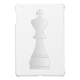 White king chess piece iPad mini cover