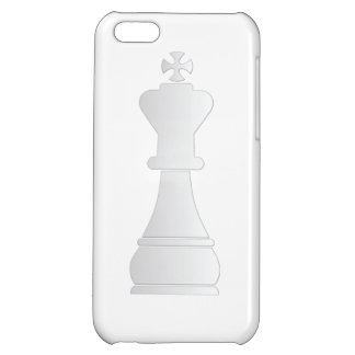 White king chess piece iPhone 5C cover