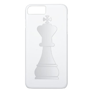White king chess piece iPhone 8 plus/7 plus case