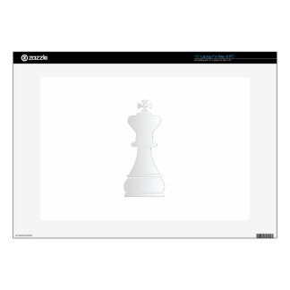 White king chess piece skin for laptop