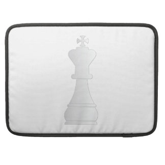 White king chess piece sleeve for MacBook pro