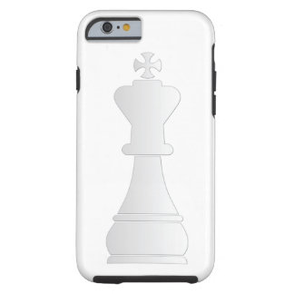 White king chess piece tough iPhone 6 case