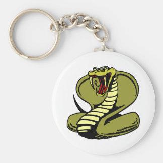 White King Cobra Keychain