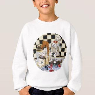 White King & White Knight Serve Up Treacle & Ink Sweatshirt