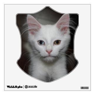 White Kitten Wall Sticker