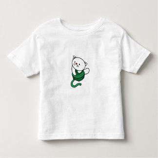 White Kitten with Ball of Yarn Toddler T-shirt