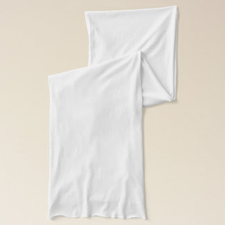 White Kitty Cute Cat Face Scarf
