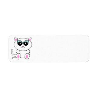 White Kitty Label