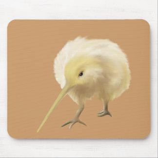 White kiwi mousepad