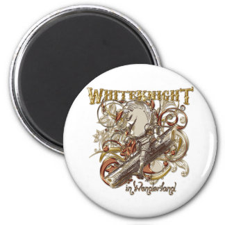 White Knight Carnivale Style (Gold Version) Refrigerator Magnets