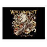 White Knight Carnivale Style (Gold Version) Postcards