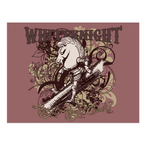 White Knight Carnivale Style Post Cards