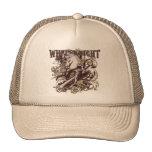 White Knight Carnivale Style Trucker Hats