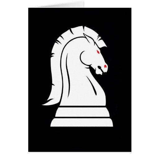 Knight Chess Lo... Ojo White Knight Logo