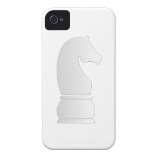 White Knight Chess piece iPhone 4 Case