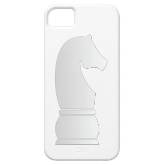 White Knight Chess piece iPhone SE/5/5s Case