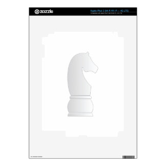 White Knight Chess piece Skin For iPad 3