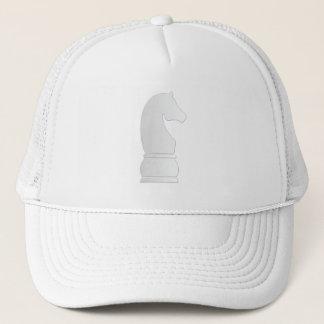 White Knight Chess piece Trucker Hat