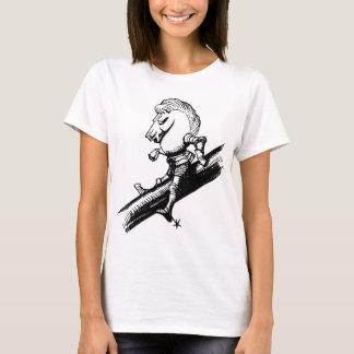 White Knight Inked Black T-Shirt