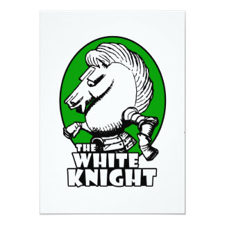 White Knight Logo Green Card