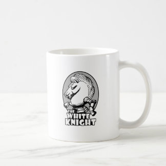 White Knight Logo Coffee Mug
