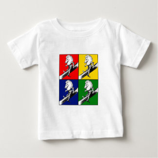 White Knight Pop Art T-shirt