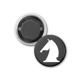 white knight (you need 2) 1 inch round magnet