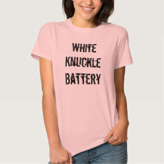 White Knuckle Battery - Womens T Tee Shirts