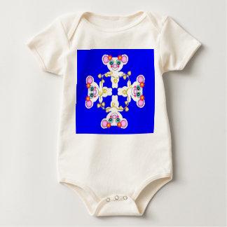 White Koalas Baby Baby Bodysuit