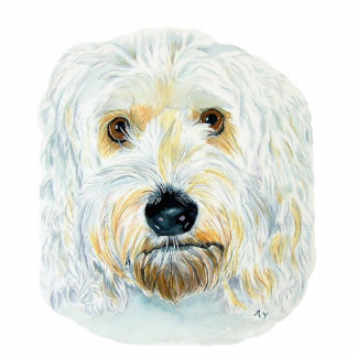 White Labradoodle Maggie Sculpture