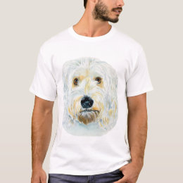 White Labradoodle Maggie T-shirt