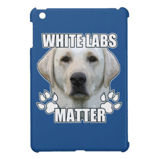 White labs matter case for the iPad mini