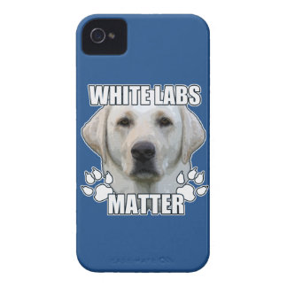 White labs matter iPhone 4 case