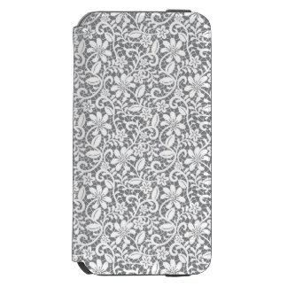 White Lace 1 iPhone 6/6s Wallet Case
