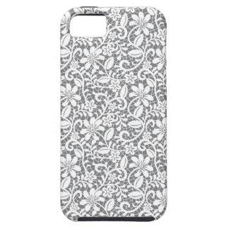 White Lace 1 iPhone SE/5/5s Case