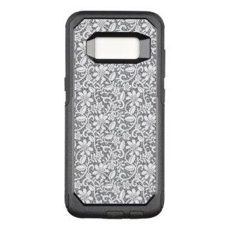 White Lace 1 OtterBox Commuter Samsung Galaxy S8 Case
